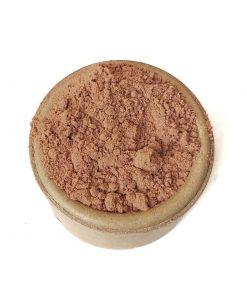 Bronzer de cacao y tapioca, empaque eco friendly