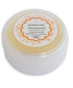 Desodorante Natural Tea Tree crema 50g